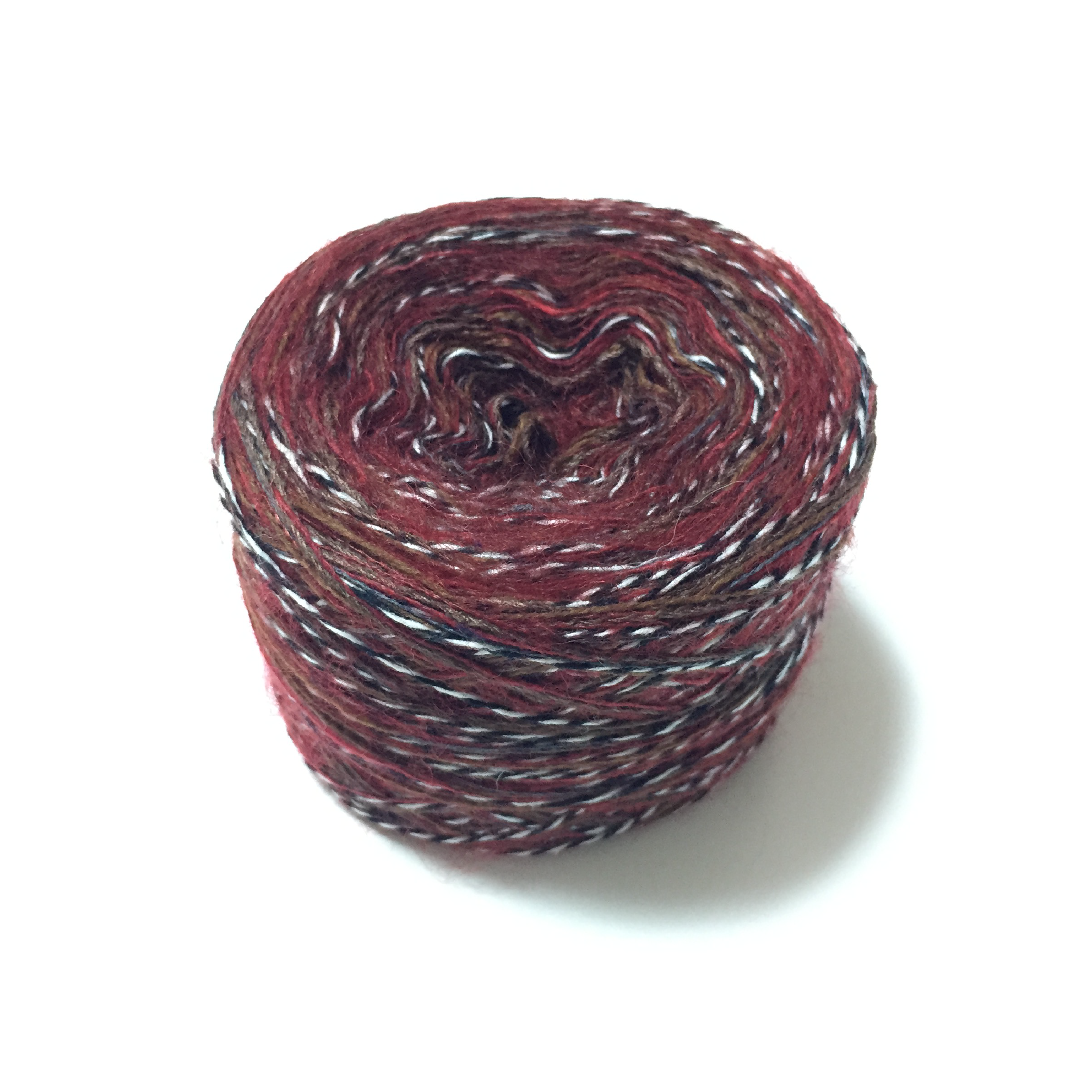 Rina Yarn (Red + Stripe)