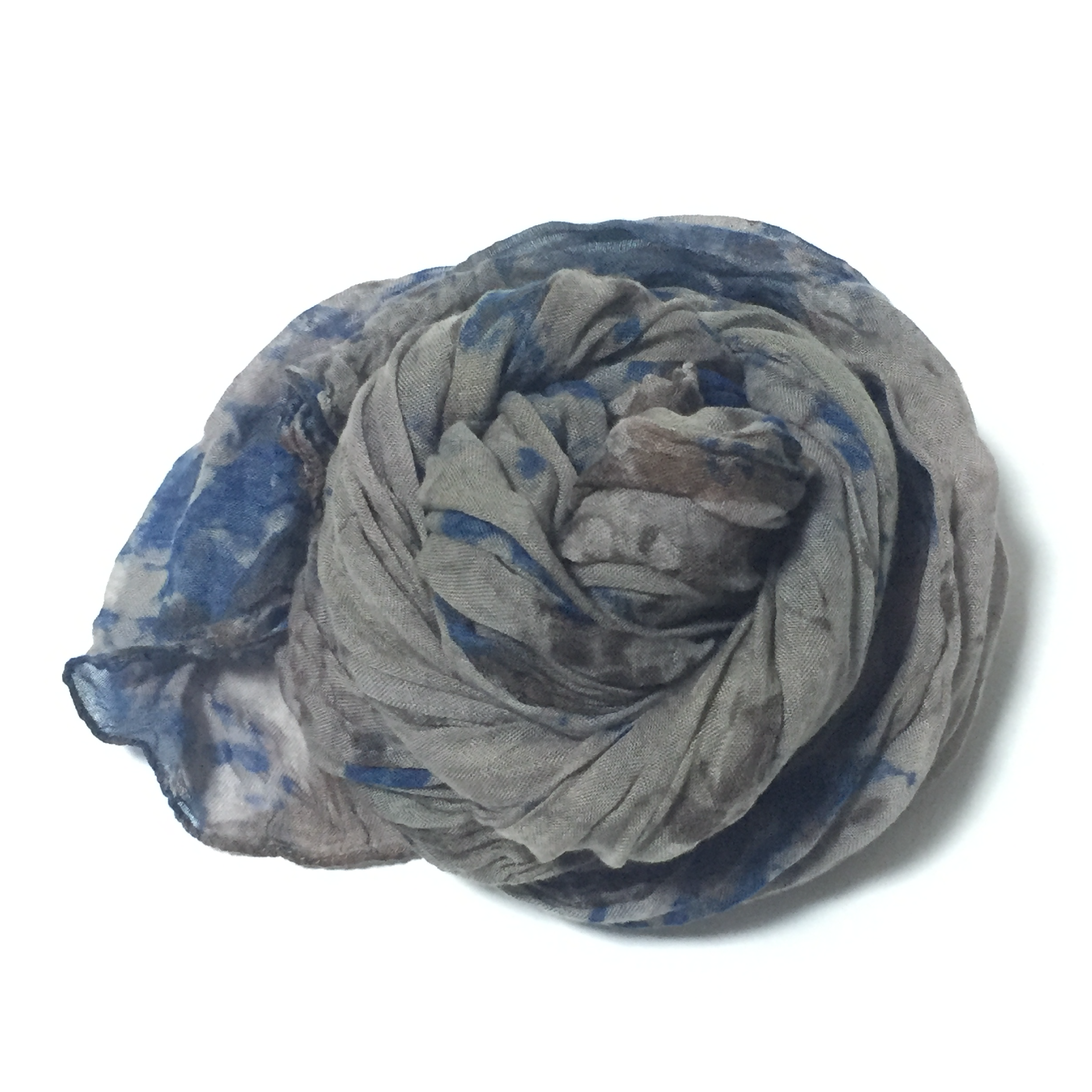 Natural Dyeing Tencel Scarf